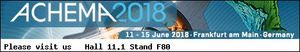 CS Instruments - Experts for measurement technology in compressed air and gas at Achema 2018