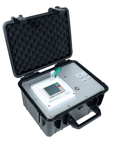 Affordable mobile chart recorder in a case DS 400 mobile