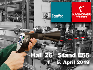 ComVac 2019 in Hannover - Innovative measuring systems and monitoring solutions for compressed air and industrial gases