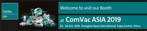 Visit our professionals for measuring systems in the field of compressed air and industrial gas at the ComVac 2019 in Shanghai - China