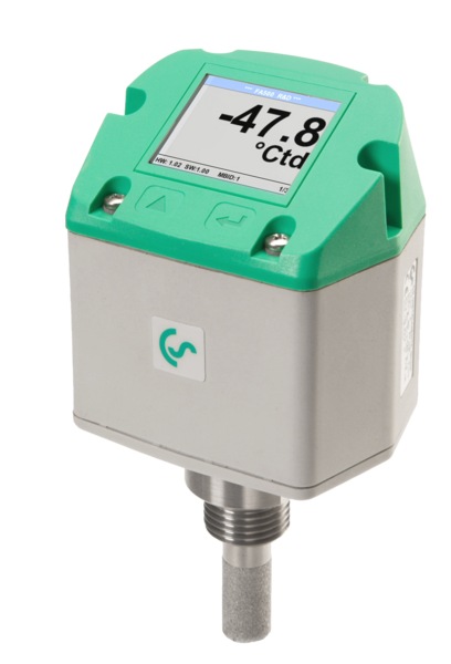 Dew point sensor with integrated display - FA 500