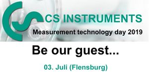 CS Instruments measurement technology day 2019 for our danish customers