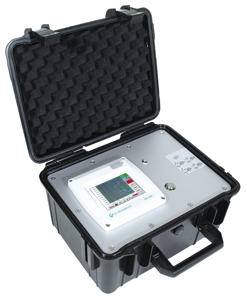 Affordable mobile chart recorder in a case - DS 400 mobile