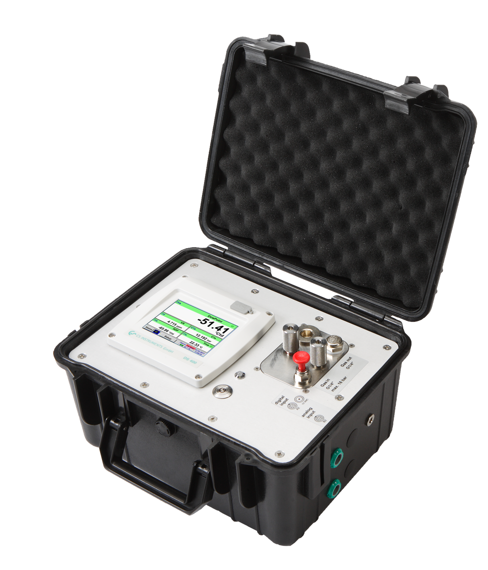 Mobile Dew Point Measurement System with integrated Pressure Sensor - DP 400 mobile