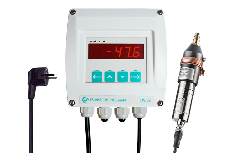 Dew point measurement set for desiccant dryers - DS 52 set